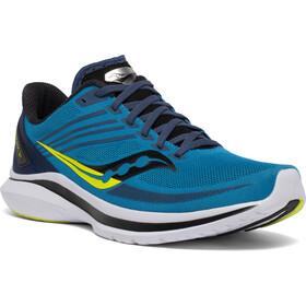 saucony Kinvara 12 Shoes Men blue/citrus